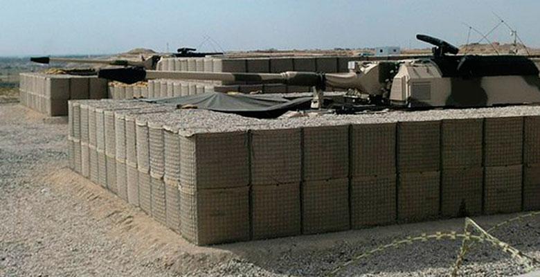 Танковое укрепление из ГКНТ