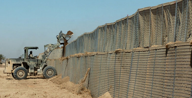 Возведение стены из ГКНТ